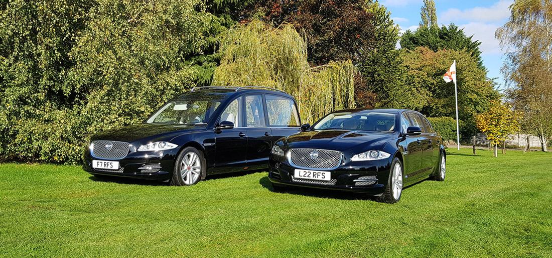 Jaguar XJ Funeral Cars