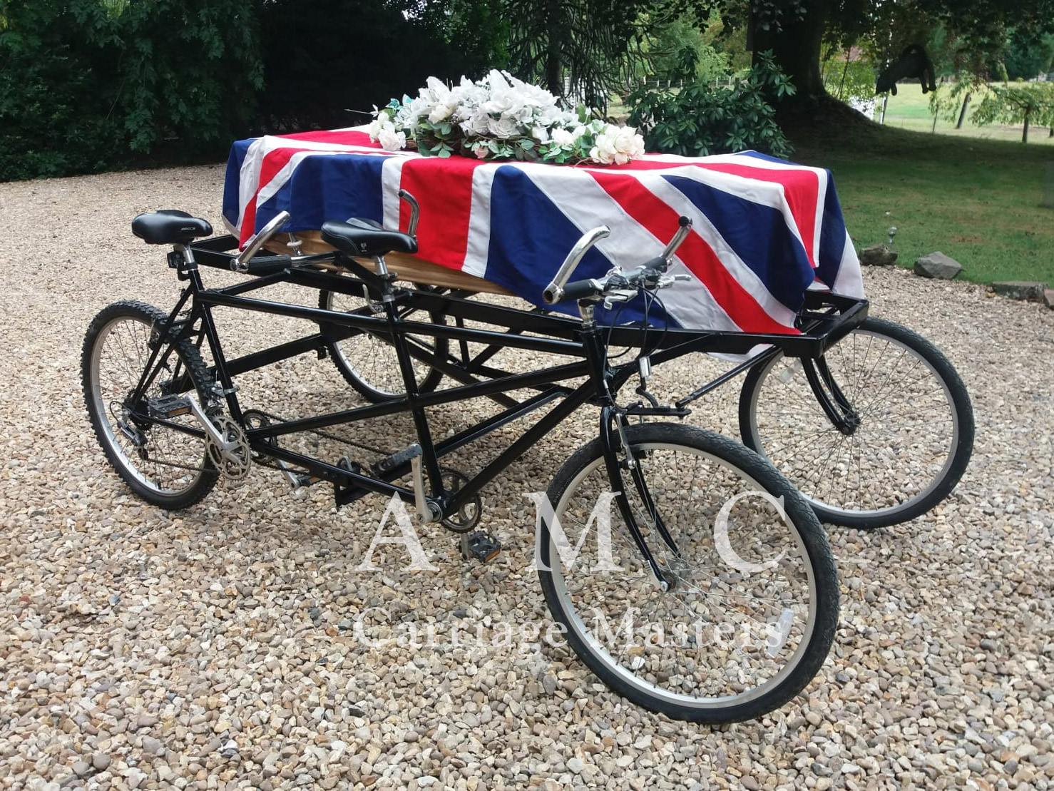 Tandem Cycle Hearse